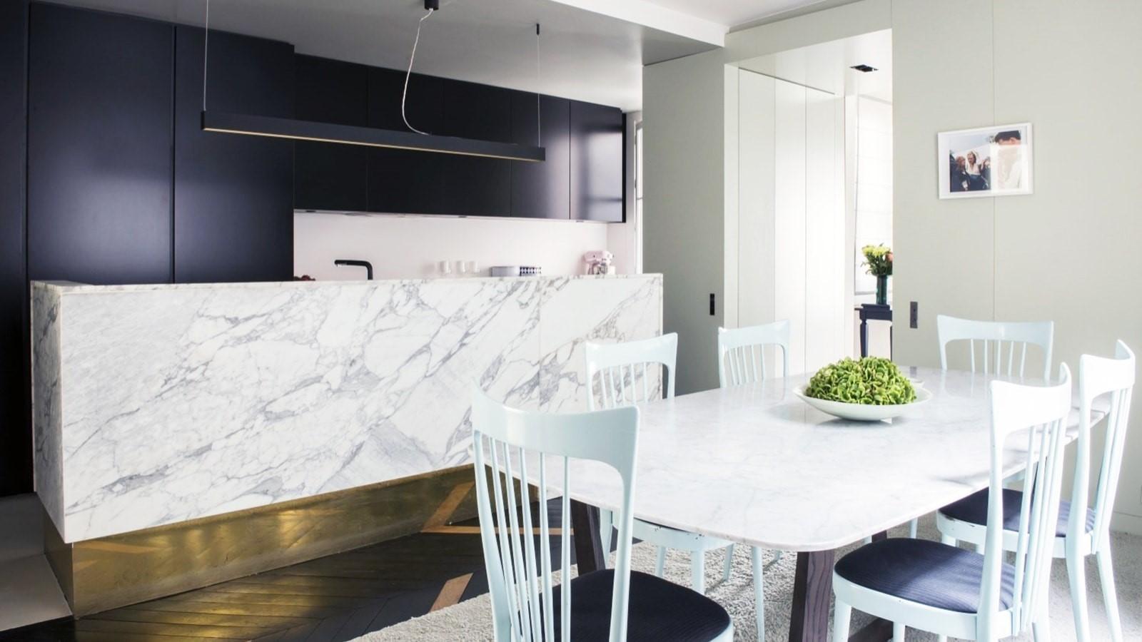 Salle A Manger Paris cuisine et salle à manger – paris 10ème - efi design